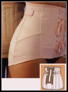 ceinture lombaire homme ou femme realise sur mesure